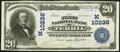 National Bank Notes:Iowa, Terril, IA - $20 1902 Date Back Fr. 646 The First National Bank Ch. # 10238 Very Fine-Extremely Fine.. ...