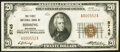 National Bank Notes:Minnesota, Hibbing, MN - $20 1929 Ty. 1 The First National Bank Ch. # 5745 Very Fine.. ...