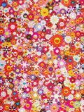 Prints & Multiples, Takashi Murakami (b. 1962). An Homage to Monopink, 1960 E, 2012. Offset lithograph in colors on smooth wove paper. 27 x ...