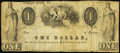 Obsoletes By State:Virginia, Bloomery, VA- Unknown Issuer at Bloomery Forge Store $1 1858 J-L PB50-08 Very Good-Fine.. ...