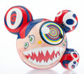 Collectible, Takashi Murakami (b. 1962). Mr. Dob (Red), 2016. Painted cast vinyl. 9-1/4 x 10-3/4 inches (23.5 x 27.3 cm). Edition of ...