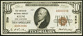National Bank Notes:New Hampshire, Keene, NH - $10 1929 Ty. 1 The Cheshire National Bank Ch. # 559 Very Fine.. ...