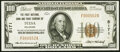 National Bank Notes:Oklahoma, Tulsa, OK - $100 1929 Ty. 1 The First National Bank & Trust Company Ch. # 5171 Very Fine.. ...