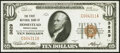 Homestead, PA - $10 1929 Ty. 1 The First National Bank Ch. # 3829 Choice About Uncirculated