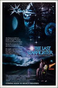 """The Last Starfighter (Universal, 1984). Rolled, Very Fine+. One Sheet (27"""" X 41""""). Science Fiction"""