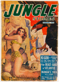 Jungle Stories - Summer 1950 (Fiction House) Condition: GD