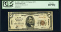 Remsen, IA - $5 1929 Ty. 1 The First National Bank Ch. # 6975 PCGS Very Fine 20PPQ