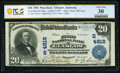 National Bank Notes:Kentucky, Glasgow, KY - $20 1902 Plain Back Fr. 654 The First National Bank Ch. # (S)4819 PCGS Banknote Very Fine 30.. ...