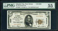 Atlantic City, NJ - $5 1929 Ty. 1 The Boardwalk National Bank Ch. # 8800 PMG About Uncirculated 55