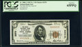 New York, NY - $5 1929 Ty. 1 The Chase National Bank Ch. # 2370 PCGS Gem New 65PPQ