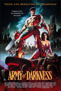 """Movie Posters:Horror, Army of Darkness (Universal, 1992). Rolled, Very Fine+. One Sheet (26.75"""" X 39.75"""") SS, Michael Hussar Artwork. Horror.. ..."""