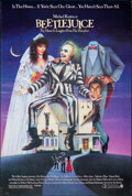 """Movie Posters:Comedy, Beetlejuice (Warner Bros., 1988). Rolled, Very Fine. One Sheet (27"""" X 40.25"""") SS, Carl Ramsey Artwork. Comedy.. ..."""