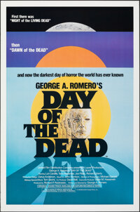 """Day of the Dead (United Film Distribution, 1985). Rolled, Very Fine. One Sheet (27"""" X 41"""") SS. Horror"""