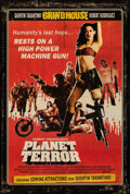 """Movie Posters:Horror, Planet Terror (Dimension, 2007). Rolled, Very Fine+. One Sheet (27"""" X 40"""") DS. Horror.. ..."""