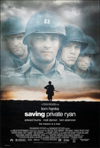 """Saving Private Ryan (Paramount, 1998). Rolled, Very Fine+. One Sheet (27"""" X 40"""") DS. War"""