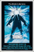 """Movie Posters:Horror, The Thing (Universal, 1982). Rolled, Very Fine+. One Sheet (27"""" X 41"""") Drew Struzan Artwork. Horror.. ..."""