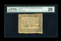 Colonial Notes:Continental Congress Issues, Continental Currency April 11, 1778 $5 PMG Very Fine 20....