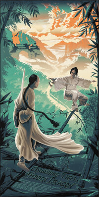 Crouching Tiger, Hidden Dragon (Hero Complex Gallery, 2018). Rolled, Very Fine+. Limited Edition Screen Print Poster (18...