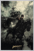 Movie Posters:Action, Indiana Jones and the Last Crusade (Bottleneck Gallery, 2019). Rolled, Very Fine/Near Mint. Hand Numbered Limited Edition Sc...