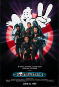 """Movie Posters:Comedy, Ghostbusters II (Columbia, 1989). Rolled, Very Fine-. One Sheet (26.75"""" X 39.75"""") SS Advance. Comedy.. ..."""