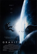 """Movie Posters:Science Fiction, Gravity (Warner Bros., 2013). Rolled, Very Fine. One Sheet (27"""" X 40"""") DS Advance. Science Fiction.. ..."""