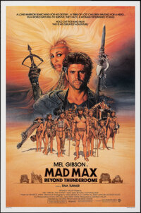 """Mad Max Beyond Thunderdome (Warner Bros., 1985). Rolled, Near Mint. One Sheet (27"""" X 41"""") SS Advance, Richard..."""
