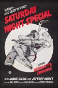 """Movie Posters:Adult, Saturday Night Special & Other Lot (Alpha Blue, 1976). Flat Folded, Very Fine+. One Sheets (2) (27"""" X 41""""). Adult.. ... (Total: 2 Items)"""