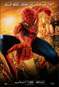 """Movie Posters:Action, Spider-Man 2 (Columbia, 2004). Rolled, Very Fine+. One Sheet (26.75"""" X 39.75"""") DS Advance, """"Destiny"""" Style. Action.. ..."""