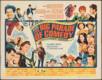 "The Big Parade of Comedy (MGM, 1964). Rolled, Fine/Very Fine. Half Sheet (22"" X 28""). Comedy"