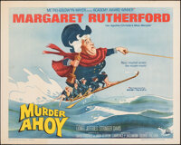 "Murder Ahoy (MGM, 1964). Rolled, Very Fine-. Half Sheet (22"" X 28"") Tom Jung Artwork. Mystery"