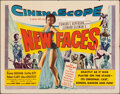 """Movie Posters:Musical, New Faces (20th Century Fox, 1954). Folded, Fine. Half Sheet (22"""" X 28""""). Musical.. ..."""