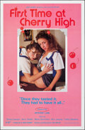 """Movie Posters:Adult, First Time at Cherry High & Other Lot (VCA, 1984). Flat Folded, Very Fine. One Sheets (2) (27"""" X 41""""). Adult.. ... (Total: 2 Items)"""