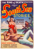 Pulps:Adventure, South Sea Stories - February 1940 (Ziff-Davis) Condition: FN+....