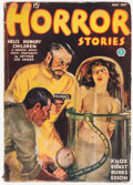 Pulps:Horror, Horror Stories - August/September 1936 (Popular) Condition: GD/VG....