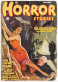 Pulps:Horror, Horror Stories - January 1935 (Popular) Condition: GD+....