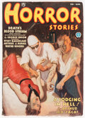 Pulps:Horror, Horror Stories - February/March 1936 (Popular) Condition: FN-....