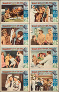 """Movie Posters:Comedy, McHale's Navy Joins the Air Force & Other Lot (Universal, 1965). Very Fine-. Lobby Card Sets of 8 (2 Sets) (11"""" X 14""""). Come... (Total: 16 Items)"""