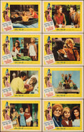 """Movie Posters:Comedy, The Pleasure Seekers (20th Century Fox, 1965). Overall: Fine/Very Fine. Lobby Card Set of 8 (11"""" X 14"""") & Photos (11) (8"""" X ... (Total: 19 Items)"""
