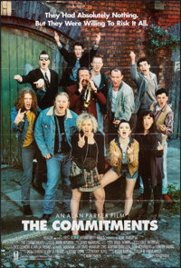 """The Commitments (20th Century Fox, 1991). Folded, Overall: Very Fine. One Sheet (27"""" X 40"""") & Presskit (9&..."""