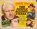 """Movie Posters:Crime, The People Against O'Hara & Other Lot (MGM, 1951). Folded, Fine+. Half Sheets (2) (22"""" X 28"""") Style B. Crime.. ... (Total: 2 Items)"""
