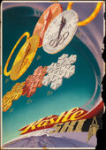 """Movie Posters:Sports, Kästle Ski Olympic Poster (Kästle Ski, 1956). Rolled, Very Good+. Austrian Advertising Poster (26.5"""" X 39.75""""). Sports.. ..."""