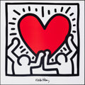 """Movie Posters:Miscellaneous, Keith Haring Art Print (LEM Art Group, 1990s). Rolled, Very Fine+. Poster (27.5"""" X 27.5""""). Miscellaneous.. ..."""