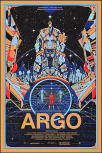 "Argo (Mondo, 2013). Rolled, Very Fine. Hand Numbered Limited Edition Screen Print Poster (24"" X 36"") Kilian En..."