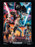 Movie Posters:Science Fiction, The Empire Strikes Back (Lucasfilm, R-2010). Rolled, Very Fine+. Artist's Proof Signed Limited Edition 30th Anniversary Post...
