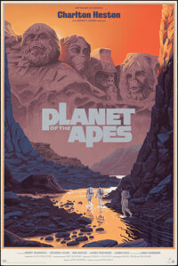 """Planet of the Apes (Mondo, 2018). Rolled, Very Fine+. Hand Numbered Limited Edition Screen Print Poster (24"""" X 36&q..."""