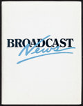 """Movie Posters:Comedy, Broadcast News (20th Century Fox, 1987). Very Fine. Presskit (9"""" X 12"""") with Photo Set of 9 (8"""" X 10"""") & Press Materials (3)..."""