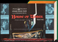 """Movie Posters:Horror, House of Usher (American International, 1960). Folded, Very Fine. Promotional Mailer (17"""" X 23.5"""") DS, Reynold Brown Artwork..."""