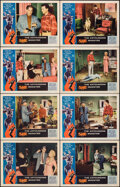 """Movie Posters:Science Fiction, The Astounding She Monster (American International, 1958). Very Fine. Lobby Card Set of 8 (11"""" X 14"""") Albert Kallis Border A... (Total: 8 Items)"""
