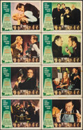 """Movie Posters:Horror, The Comedy of Terrors (American International, 1964). Very Fine-. Lobby Card Set of 8 (11"""" X 14"""") Reynold Brown Border Artwo... (Total: 8 Items)"""