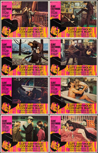 """Coogan's Bluff (Universal, 1968). Very Fine. Lobby Card Set of 8 (11"""" X 14""""). Crime. ... (Total: 8 Items)"""